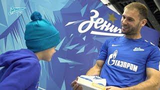 Бранислав Иванович получил приз «G-Drive. Лучший игрок сентября»