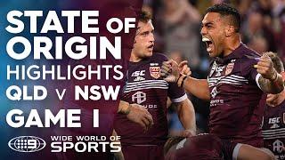 2019 State of Origin Highlights: QLD v NSW - Game I | NRL on Nine