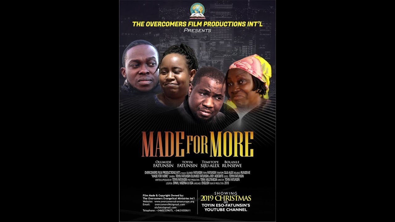 Download MADE FOR MORE  MOVIE PART 1