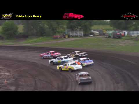 Hobby Stock Championship Night -- 8/25/17 -- Rapid Speedway