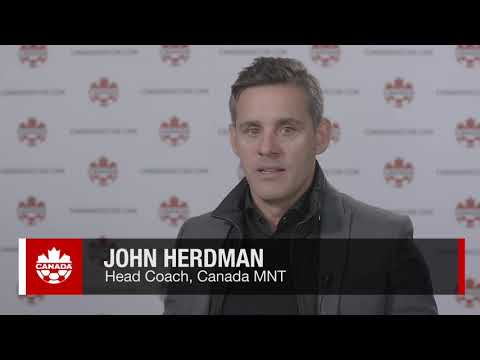 John Herdman on Stephen Eustáquio