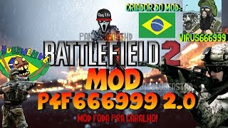 Trailer-  BF2 MOD P4F666999_2.0  (ASSISTA COMPLETO NO DAILYMOTION)