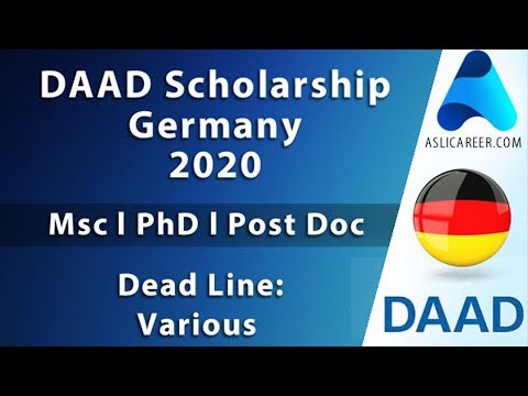Step By Step Guide To DAAD Scholarship Germany 2020-21