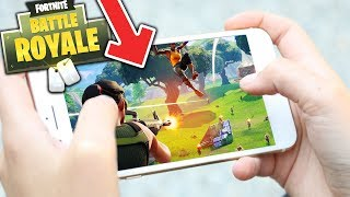 FORTNITE AUF DEM HANDY! | MOBILE + NEUER MODUS | FORTNITE: Battle Royale (Deutsch)
