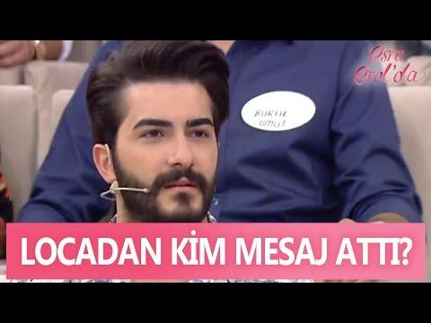 Locadan kim dün akşam Mustafa'ya mesaj attı? - Esra Erol'da 27 Nisan 2017 - 389. Bölüm - atv