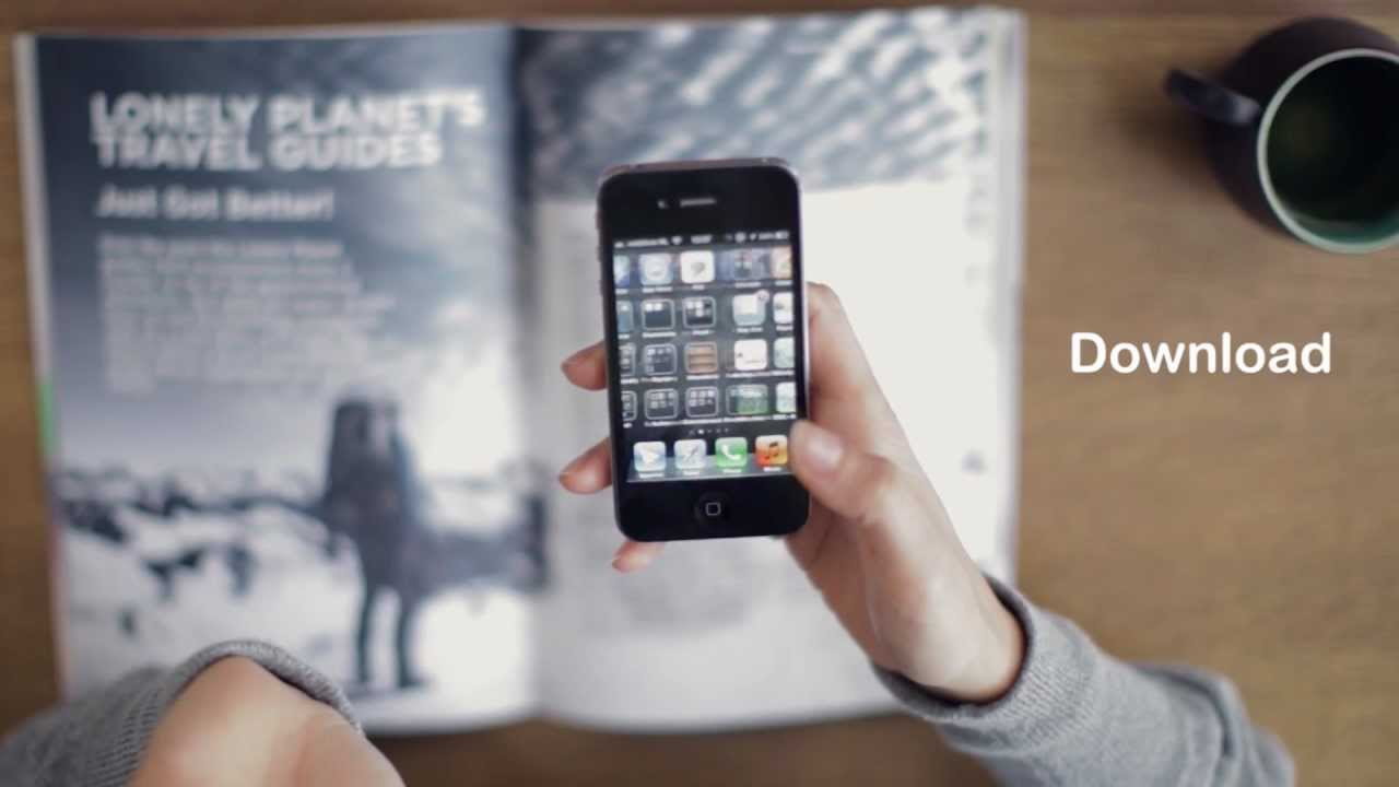 Layar Sticks The Knife In QR Codes With Augmented Reality Magazine Sys