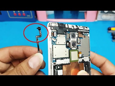 Lenovo K8 Note    Lenovo K8 Plus Mobile Power On/Off and Volume Button Flex Cable Replacement