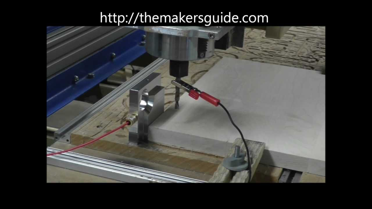 CNC Edge Finding With The Makers Guide Triple Edge Finder