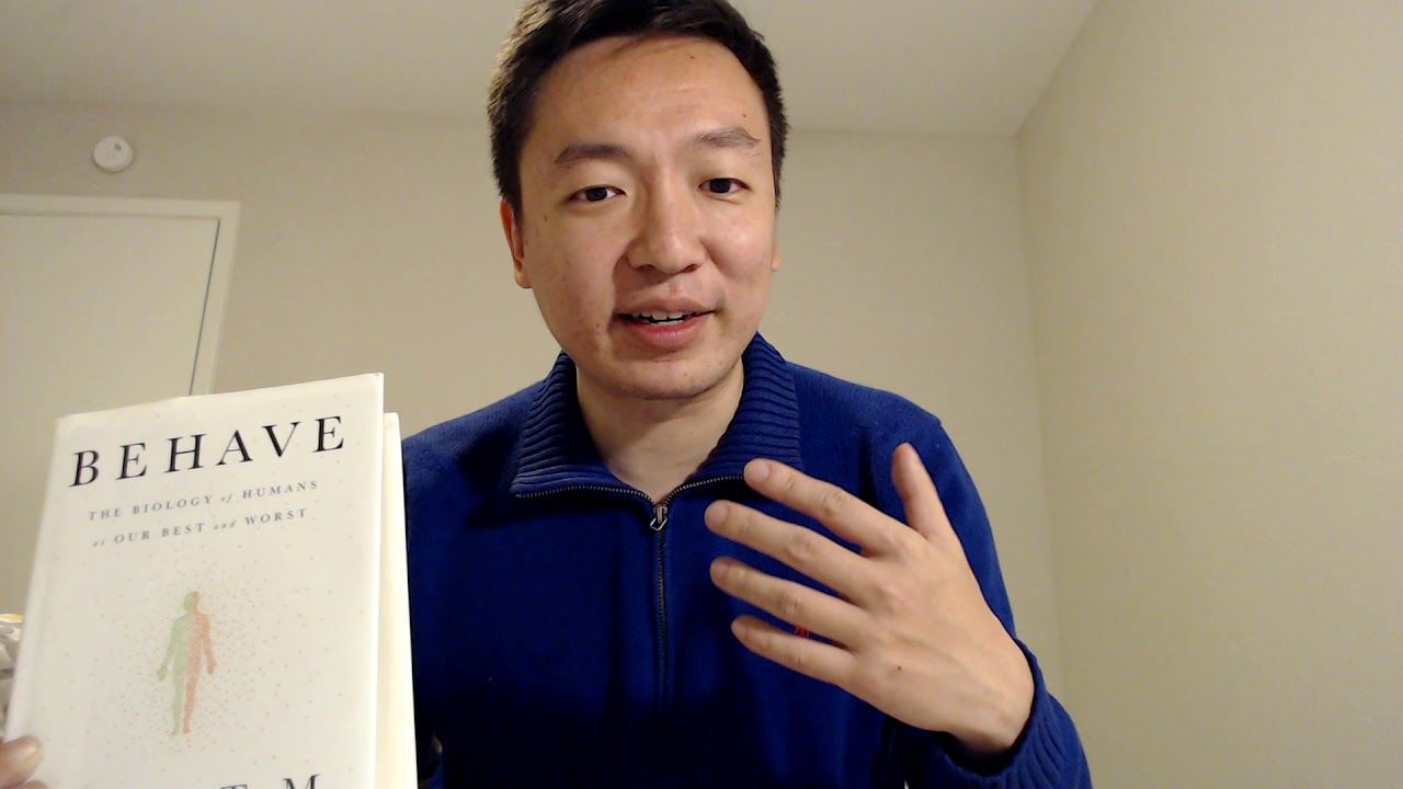 Behave by Robert Sapolsky Book Review - YouTube