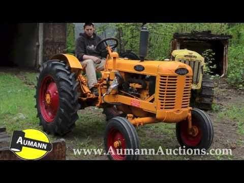 Brockway Tractor - Ken Avery Antique Tractor Collection Auction