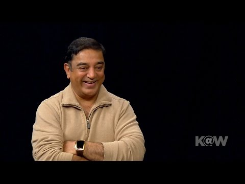 Acting Legend Kamal Haasan Looks to the Future of Indian Movies