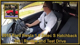 Virtual video Test Drive in our Ford Fiesta 1 6 Zetec S Hatchback 3dr