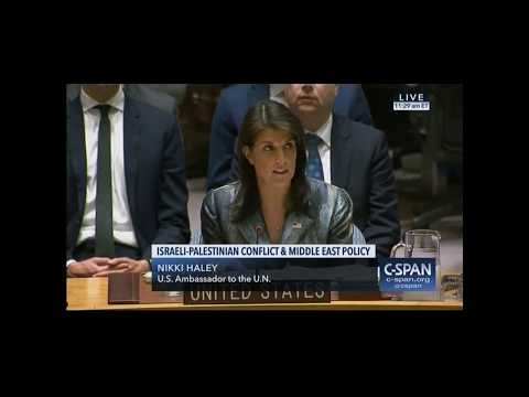 Nikki Haley fires back at Palestinians who wanted her silenced: 'I will not shut up'