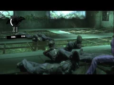 Batman Arkham Asylum: Joker Gameplay 2 - Giggles In The Gardens - [HD] |