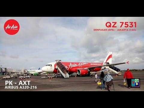 Indonesia AirAsia PK-AXT As QZ7531 Denpasar - Jakarta