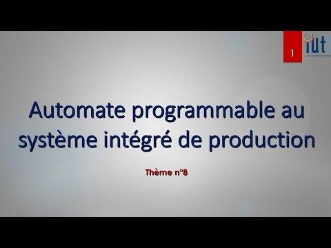 Automate programmable au système intégré de production