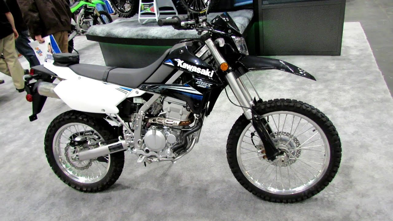 2014 Kawasaki KLX250S Walkaround - 2013 New York Motorcycle Show ...