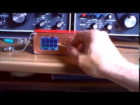 Arduino VNA - Vector Graphic based Antenna Analyser 2