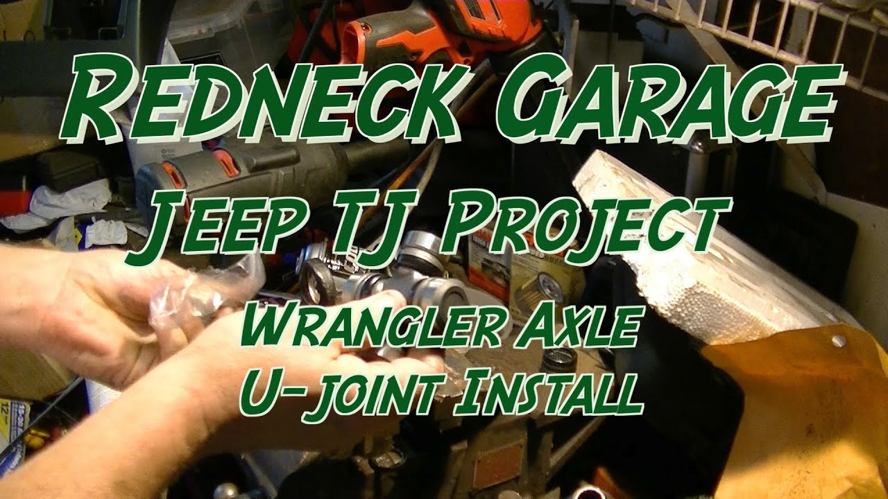 how to change axle u joints jeep wrangler