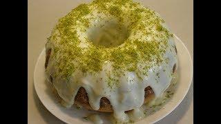 Зеленый лимонный кекс 🍋 🍋Green lemon cupcake