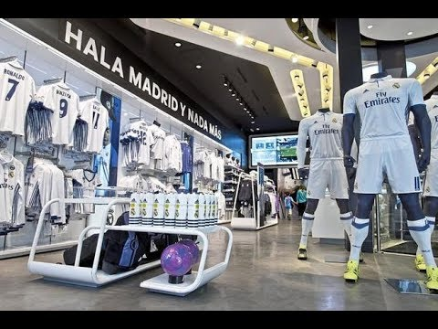 cd6dffcc785 Real Madrid Official Store. Tienda Oficial Real Madrid - 🇪🇸 - YouTube