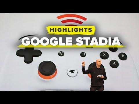Google Stadia announced at GDC 2019