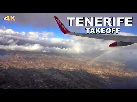 TENERIFE TAKEOFF - 2018 4K