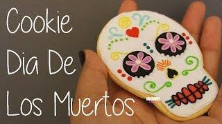 Cookie Dia De Los Muertos (Tuto Fimo/Polymer Clay Tutorial)