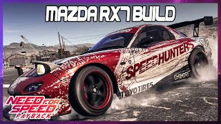 Need for Speed Payback | 1 Minute Mazda RX7 build