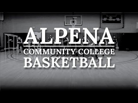 Alpena Community College Lumberjack Basketball 2017-2018