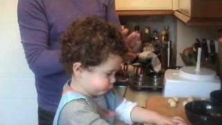 Mini Easter Simnel Cakes