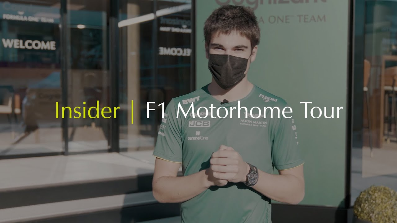 #IAMSTORIES | INSIDER | F1 Motorhome Tour