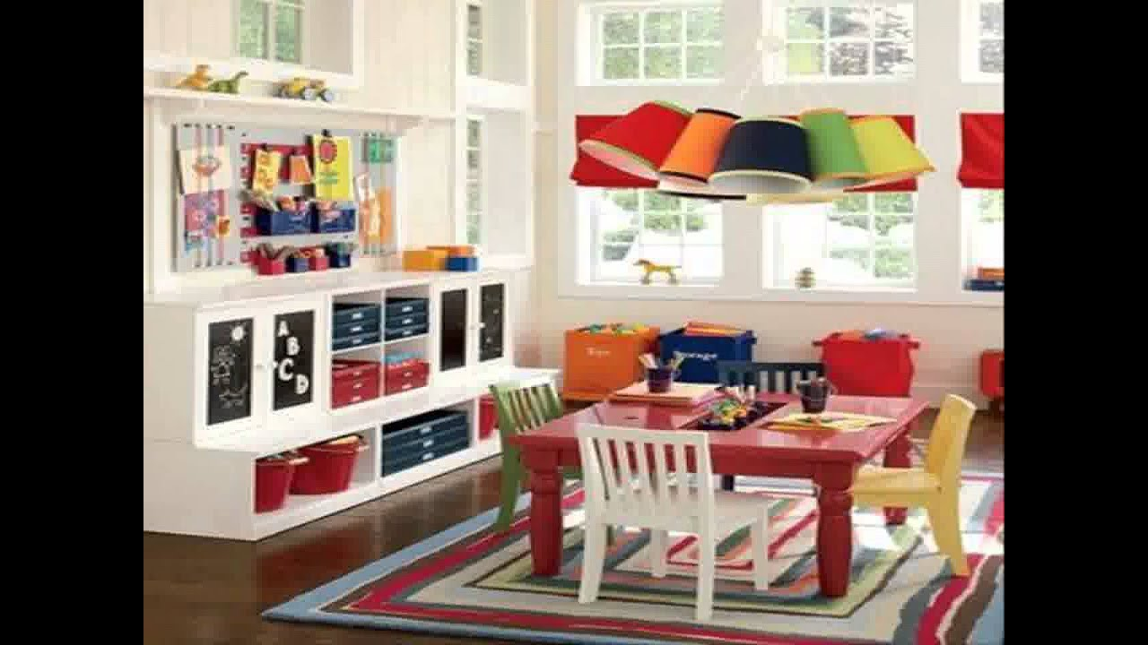playroom decorating ideas - youtube