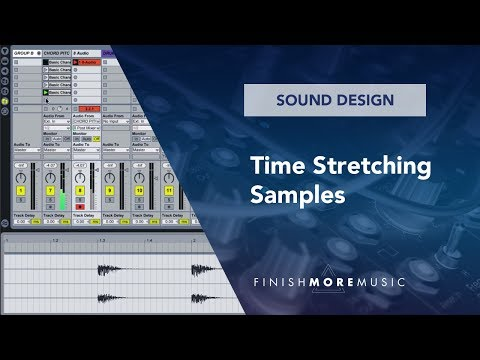 Ableton Tutorial - Timestretching Samples