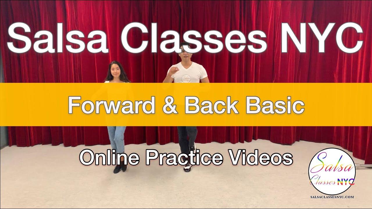 How To Dance A Forward & Back Basic Salsa On2