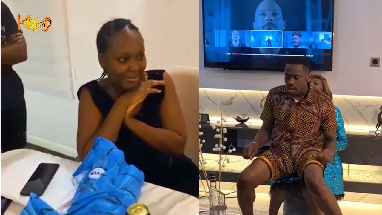 Download LATEEF ADEDIMEJI SURPRISES  STAR ACTRESS, ADEBIMPE OYEBADE ON HER BIRTHDAY