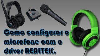 Como configurar o headset no PC