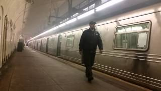 (Light) Explosion at 181st street A Train station