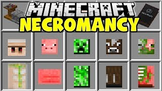 Minecraft NECROMANCY MOD   CREATE MINECRAFT MINIONS TO FIGHT FOR YOU!!