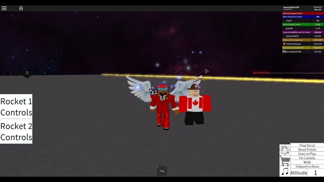 Roblox   Rocket Tester with TriplePattyBurger!