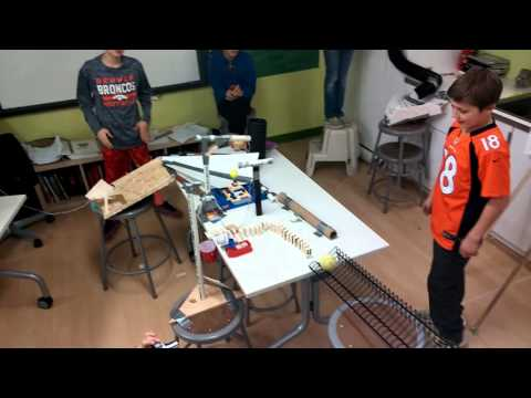 2016 Aspen Academy Rube Goldberg Machine