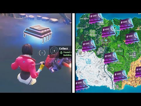 How To Find Fortbytes in Fortnite! All Hidden Fortbyte Locations! (All Season 9 Fortbyte Locations)
