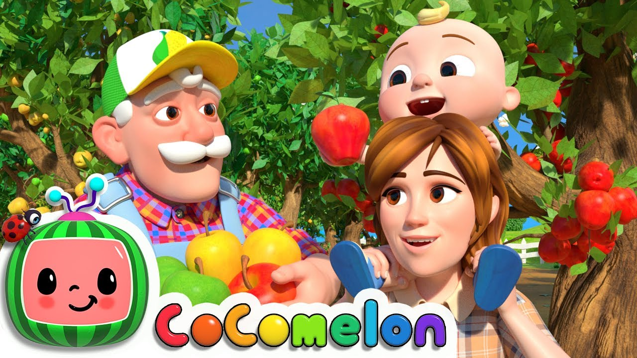 Counting Apples At The Farm | CoComelon Nursery Rhymes & Kids Songs