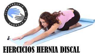 Hernia discal, ejercicios para mejorar el dolor lumbar