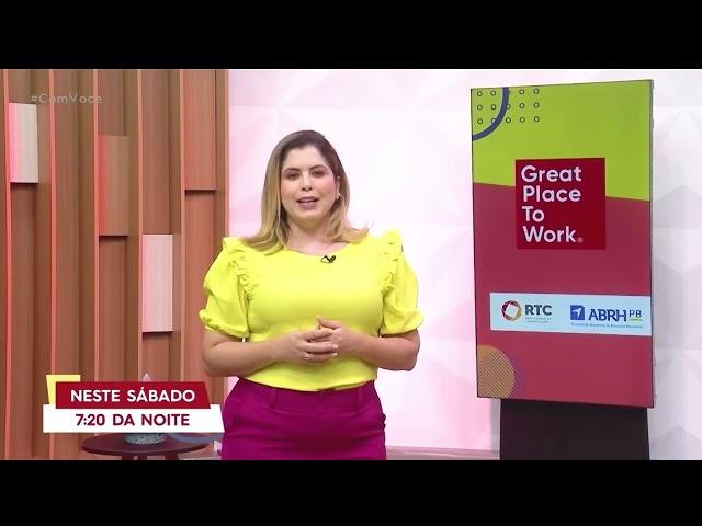 GPTW premiação acontece neste sábado, às 19h20, na telinha da TV Tambaú - Com Você