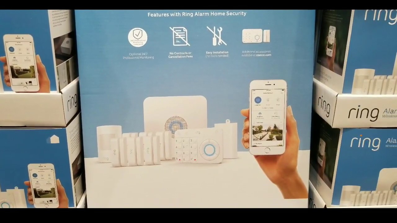 b950eb1c512 Costco! RING Wireless Security Alarm Kit 10 Piece!  239!!! - YouTube