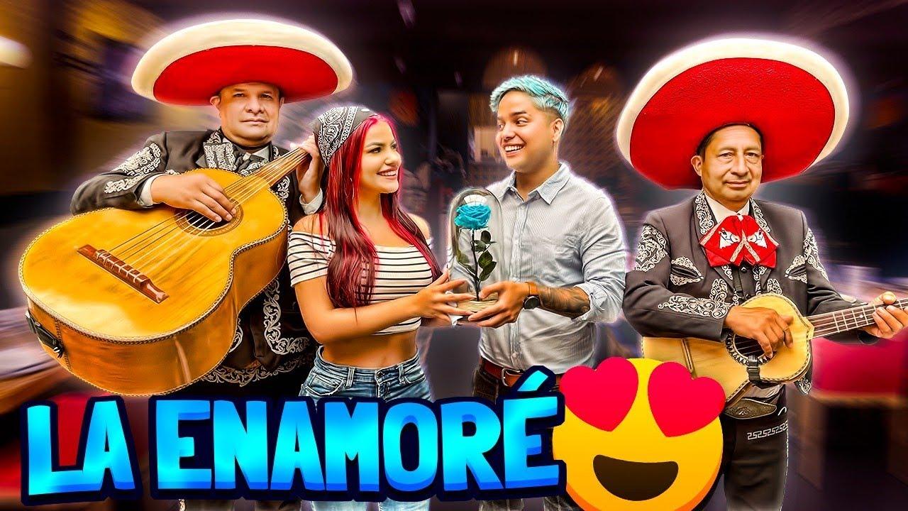 SIENDO ROMÁNTICO CON MI EX NOVIA POR 24 HORAS *le llevé flores y mariachis* - Yolo ft. Mariana