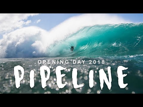 Pipeline Opening Day 2018 // North Shore, Oahu