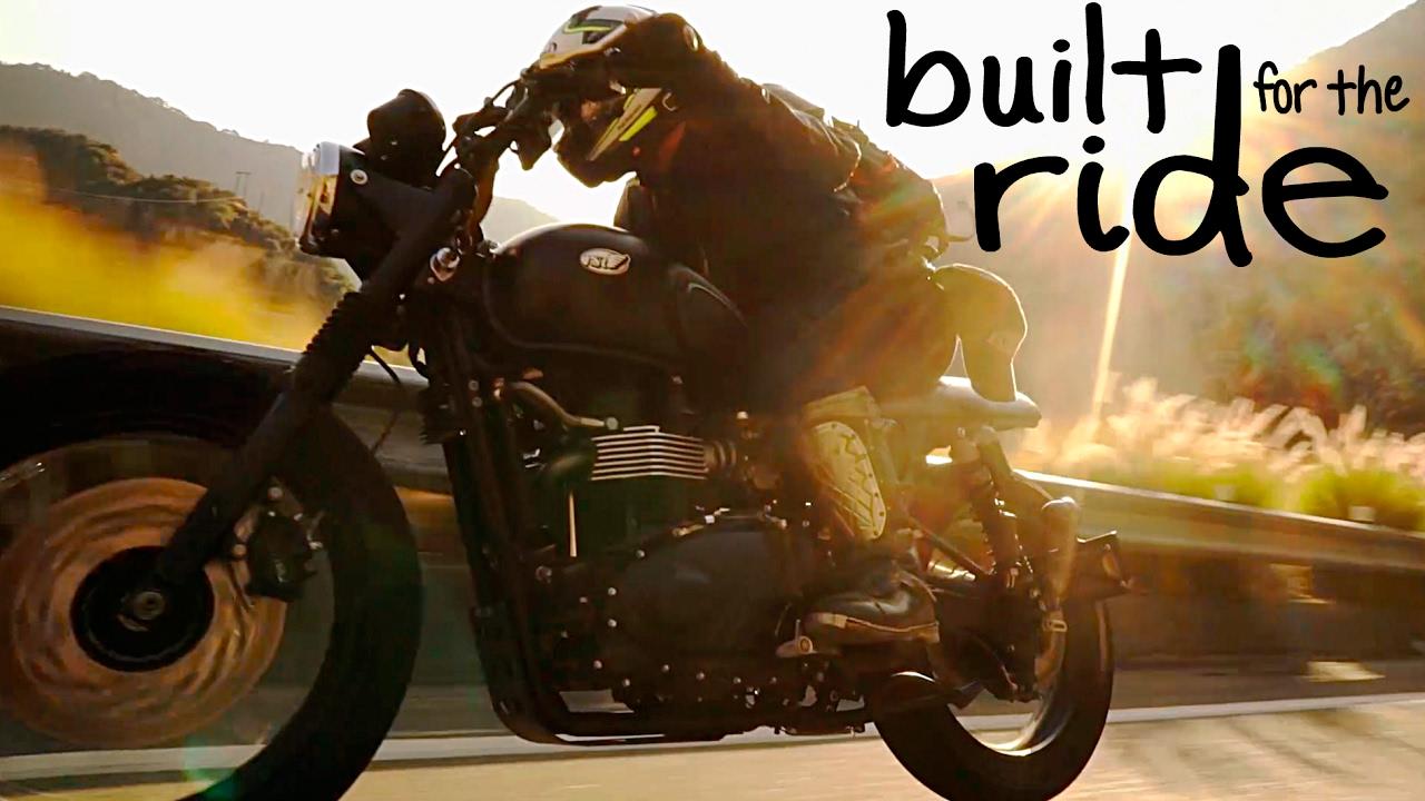 Built For The Ride Rsd Triumph Scrambler 900 Motogeo Adventures