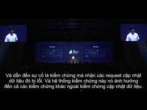 【DEVDAY2016】Difficult Challenges That LINE Has Overcome - VIETSUB